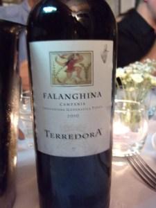 Terradorra 2010 Falanghina