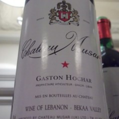 Chateau Musar – red and white wines of Lebanon