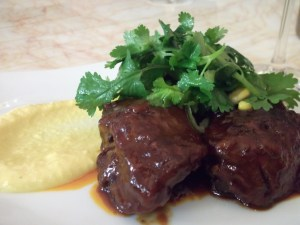 braised pig cheek