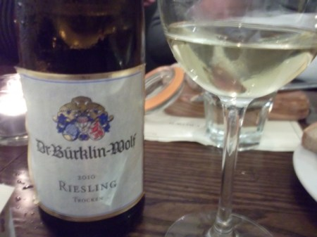 Dr Bucklin Wolf riesling