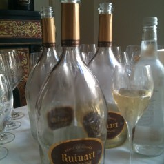 Ruinart 2002 lunch