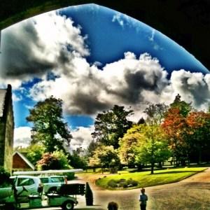 driveway of Ashdown Park