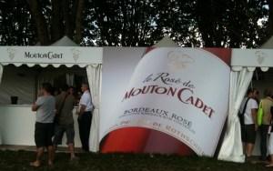 Mouton Cadet stand