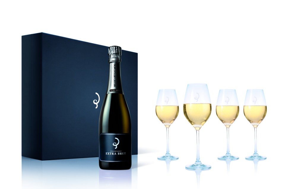 Billecart-Salmon specially designed champagne glasses