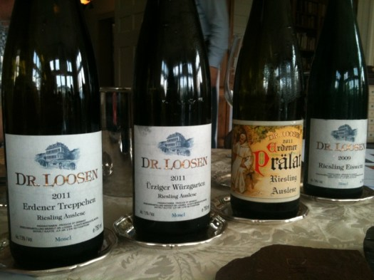 a few of the wines we tasted (out of about 20)