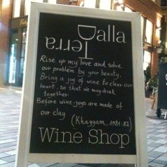 I know this great little place in Covent Garden&#8230;Dalla Terra