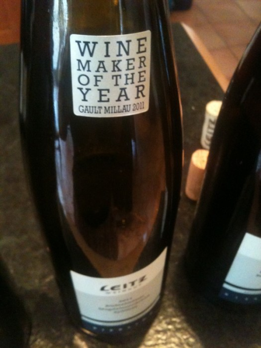 Leitz winemaker of the Year 2011
