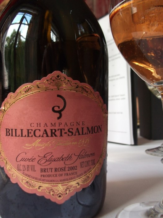Cuvee Elisabeth Salmon rose 2002