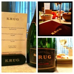 Murano and Krug Champagne &#8211; a seasonally paired menu