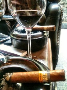wine &amp; cigar