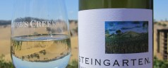 Steingarten riesling and Jacob&#8217;s Creek Visitor&#8217;s Centre