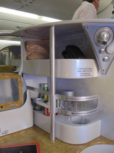 minibar on board