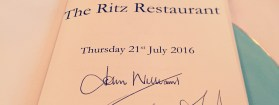 English Wine arrives at The Ritz