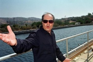 Hani al-Mulqi gestures at Jordan's Zay water treatment plant September 14, 1998. Credit: Reuters/File Photo