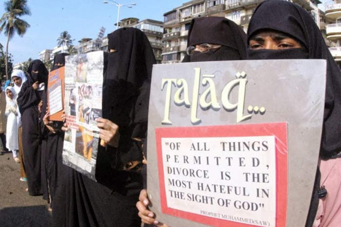 Earlier this year, petitioners highlighted the plight faced by Muslim women on account of arbitrary divorces. Credit: PTI