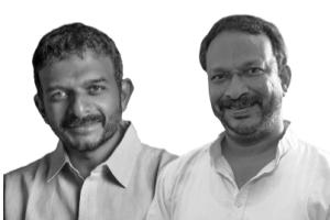 T.M. Krishna  and Bezwada Wilson. Credit: Raman Magsaysay Award Foundation