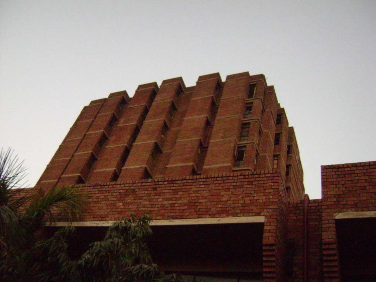 The JNU library. Credit: Jai Pandya/Flickr CC 2.0