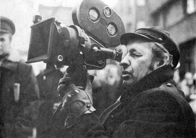 Andrzej Wajda in 1974. Credit: Wikimedia Commons