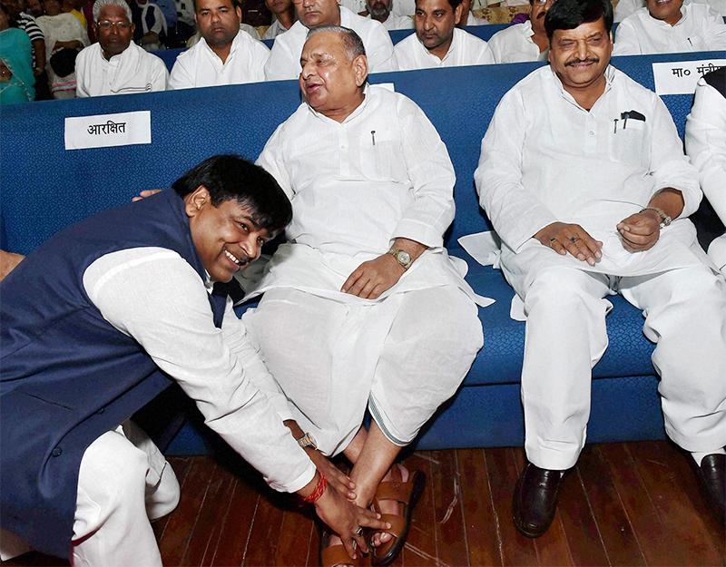 Lucknow: Samajwadi Party Mulayam Singh Yadav