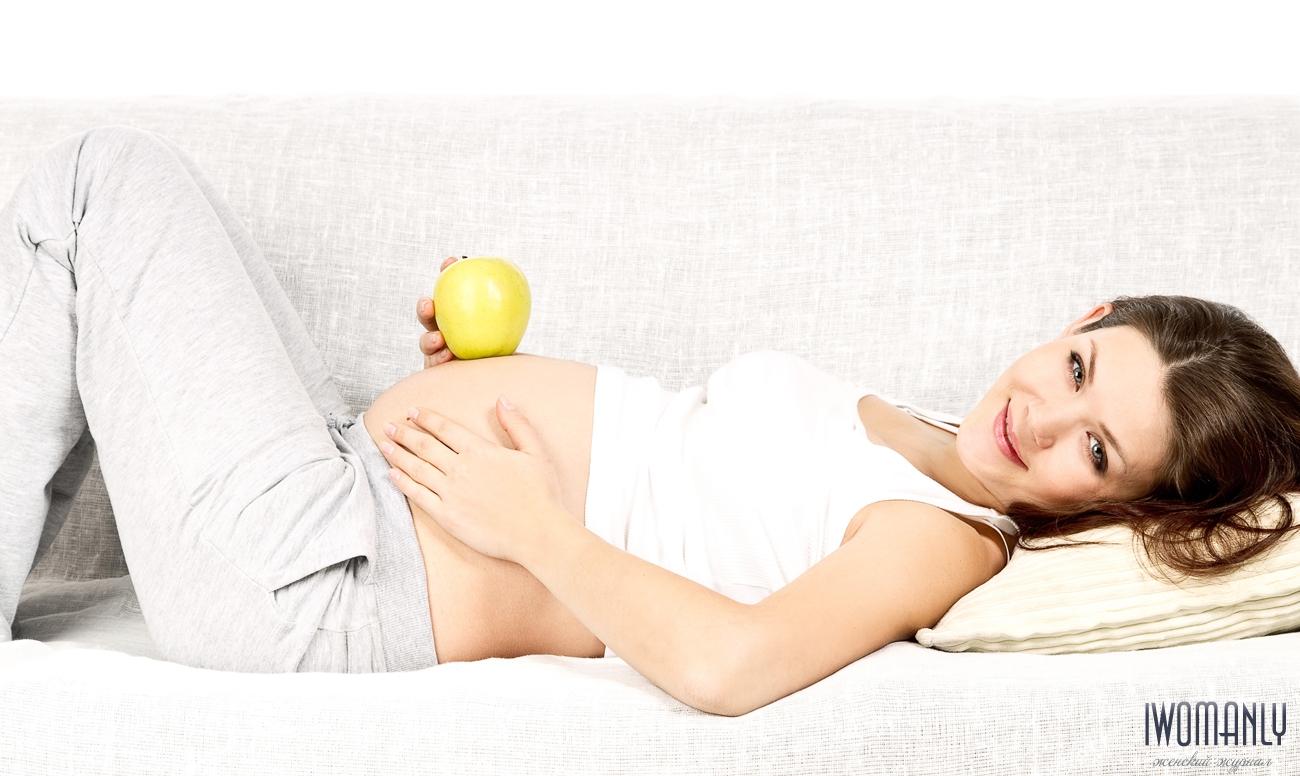 Первые критические дни при беременности