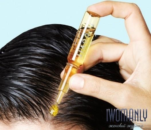 Маски с витаминами в ампулах для волос