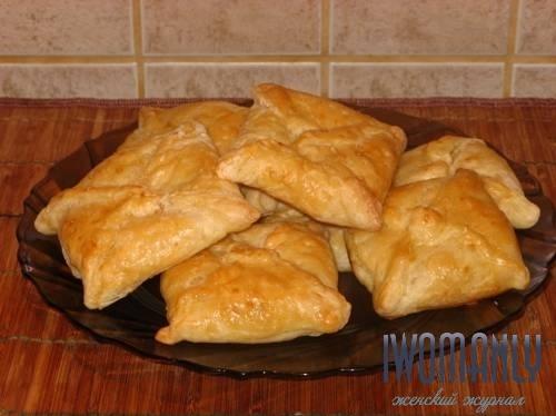 Хачапури из слоеного теста с адыгейским сыром рецепты