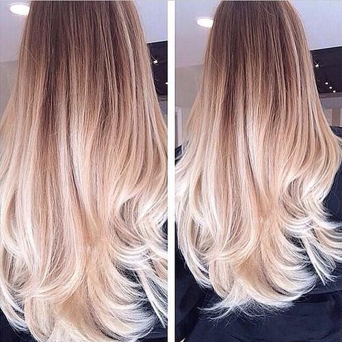 Модный цвет волос в 2018 году