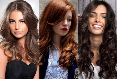 Модный цвет волос и стрижки 2017 года женские