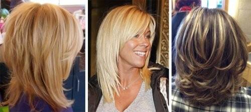 стрижки на среднюю длину волос 2017