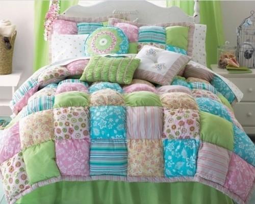 Как сшит детское одеяло