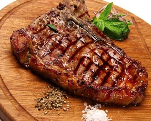 Пожарить стейк из свинины на сковороде рецепт