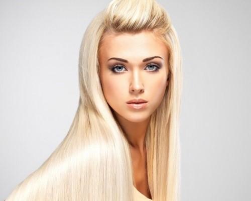 Как осветлить пожелтевшие волосы