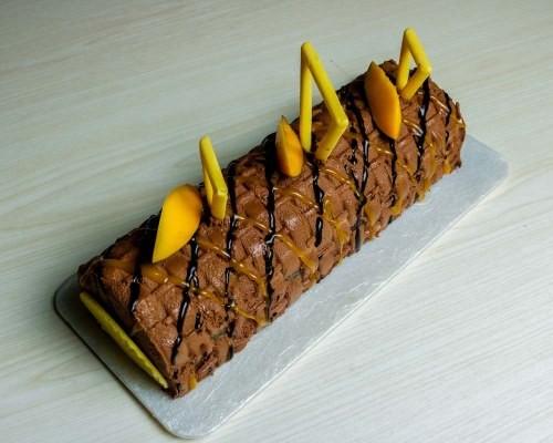 Торт полено с фото пошагово в домашних условиях 177