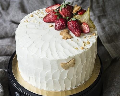 украшение торта фруктами и ягодами в домашних условиях пошагово