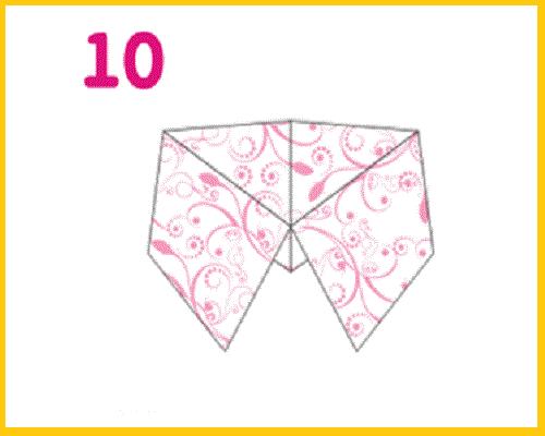 Как сделать гадалку из бумаги  поэтапно