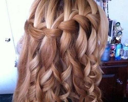 Плетение длинных волос