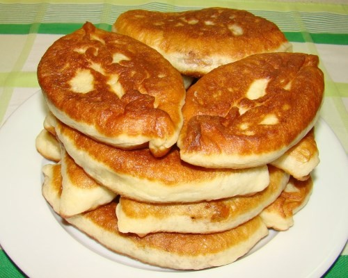 Тесто на пирожки пух