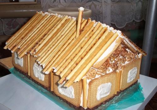 Торт дом как его сделать 783