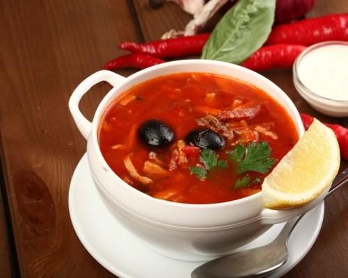 как приготовить диетическую солянку сборную мясную в домашних условиях