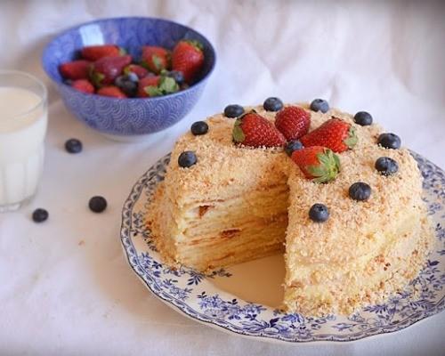 Рецепты торта наполеон классический в домашних условиях с