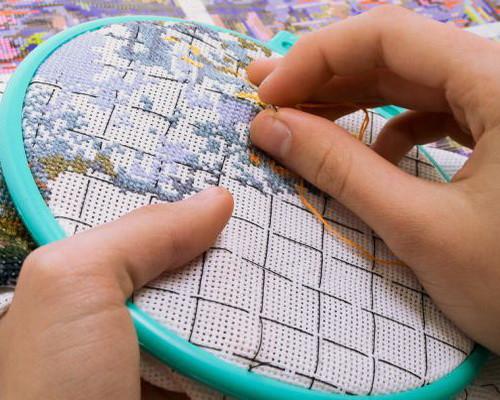 вышивание крестиком фото