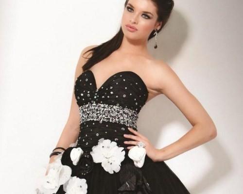 В черном платье замужней женщине