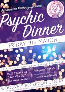 2018 03, Mar 9th Psychic dinner