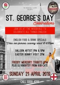 2019 04, Apr 21st Sun, St Georges Day