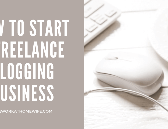 How to Start a Freelance Blogging Business