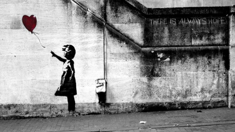 Banksy-Art-Balloon-Girl