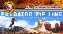 Predator Zip Line