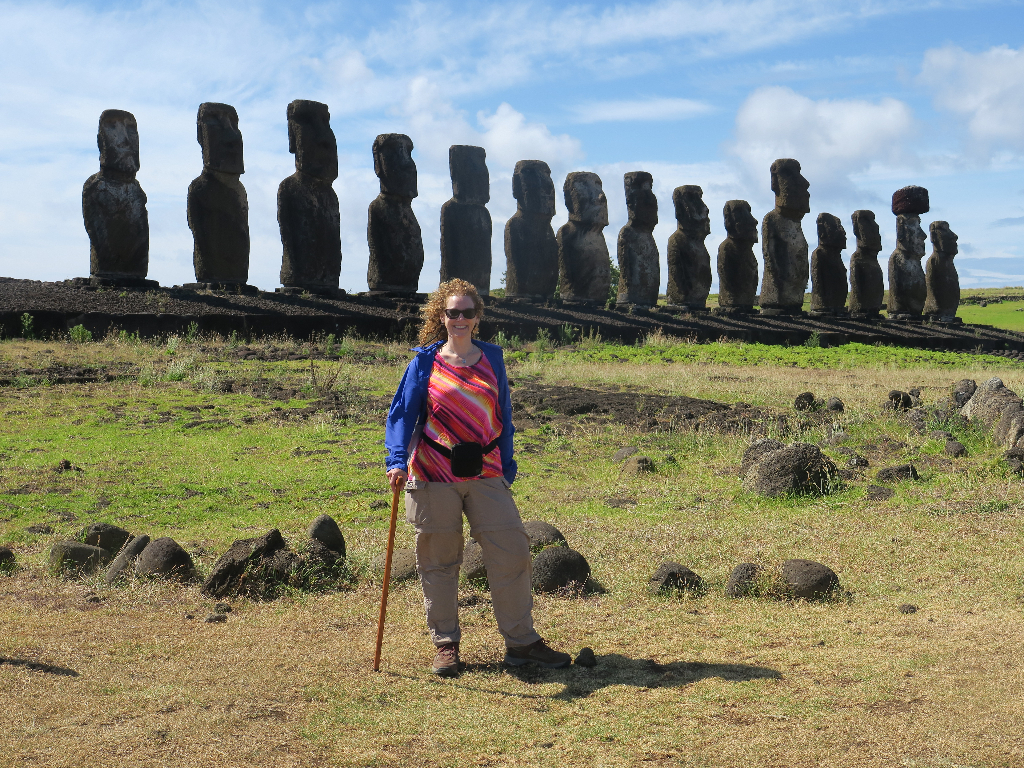 Ahu Tongariki, Easter Island, Isla de Pascua, Chile, South America