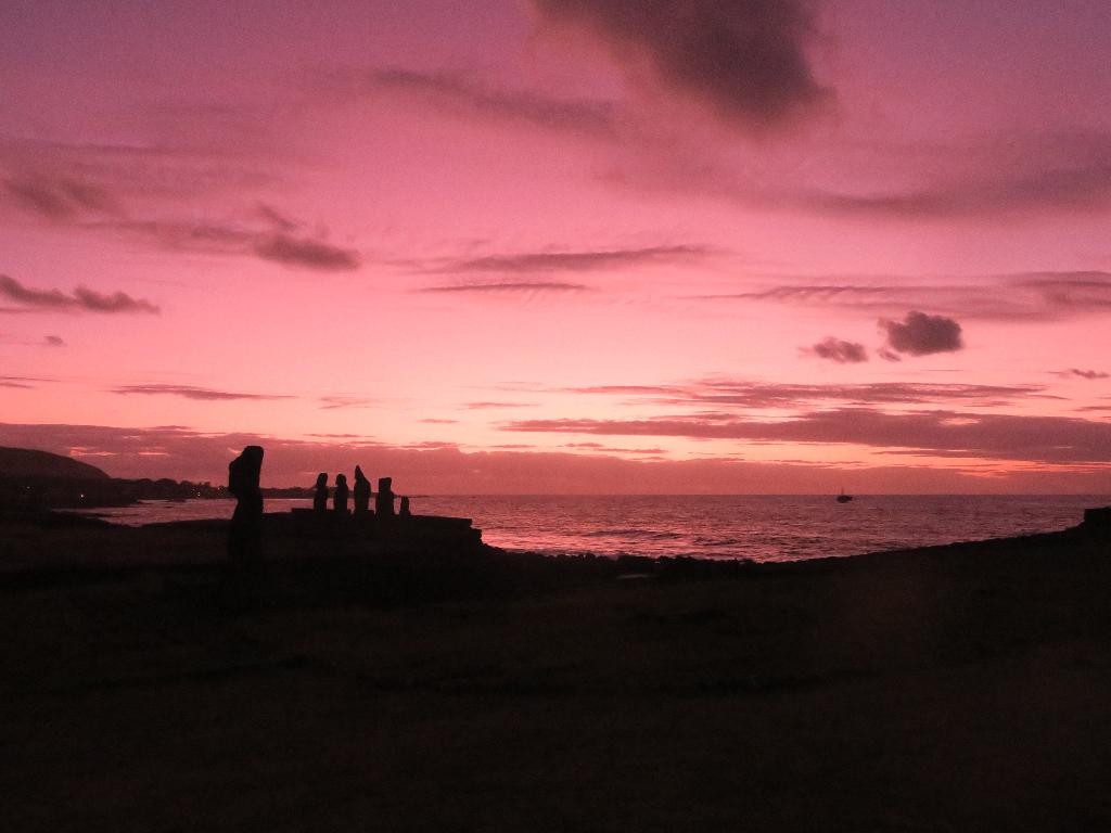 Tahai Easter Island, Rapa Nui, Hanga Roa, Vanuatu, Isla de Pascua, Chile, South America