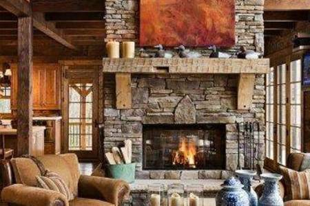 40 rustic interior design for your home